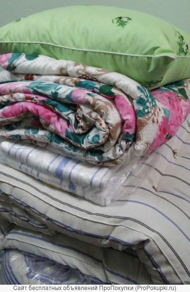 Отличные ватные матрасы, спальные утепленные комплекты для рабочих, подушки, одеяла, постельное белье, спецодежда недорого