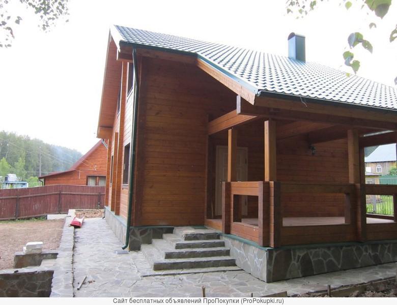 Строительство деревянных домов,бань,беседок под ключ