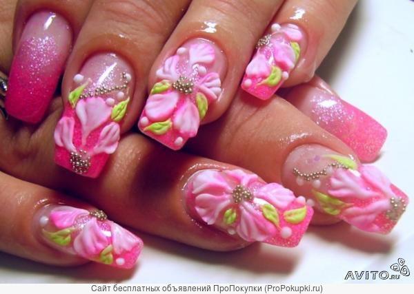 Курс: Маникюр и педикюр, наращивание и дизайн ногтей