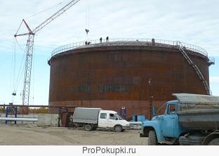 Монтаж нефтеналивных резервуаров в Мурманской области