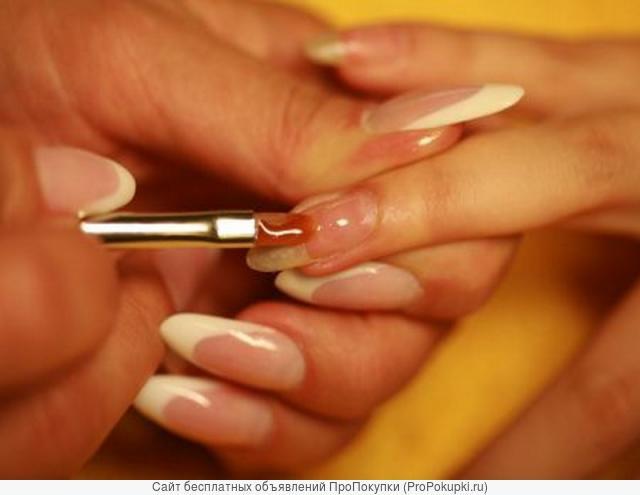Обучение по курсу «Биогель, Гель-лак, Шелла́к– укрепление натуральных ногтей» в центре «Союз»