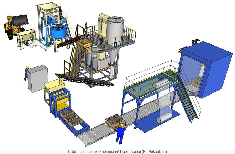 Оборудование производства сыпучих удобрений и корма из сапропеля