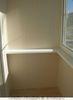 Отделка внутренняя балкона экзопаном. Встроенные шкафы