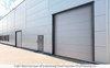 Ворота промышленные панорамные ДОРХАН