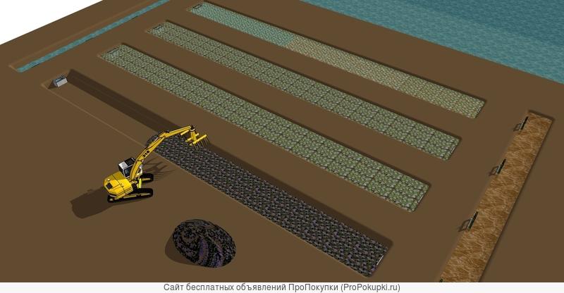 Очистные сооружения с использованием водного гиацинта - эйхорнии