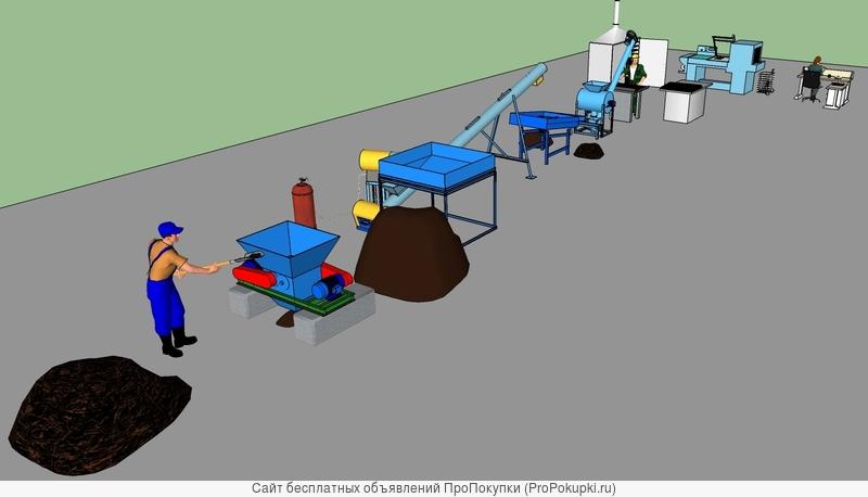 Минизавод фермера производства таблетированного удобрения из сапропеля