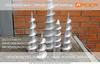 Производство и монтаж винтовых свай с литым наконечником в Челябинске
