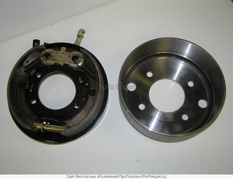 механизм ручника в сборе с колодками Hyundai AeroTown HD120