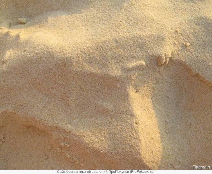 Речной песок (в мешках 50 кг)