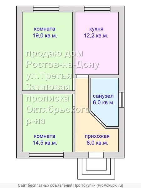 Дом с/т Салют Особенная-Оганова