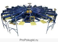 Оборудование для шелкографии.Станки для шелкографии
