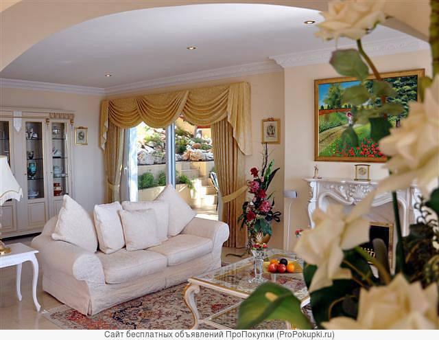 Дома в Испании в Морайре - элитная вилла с видом на море и горы