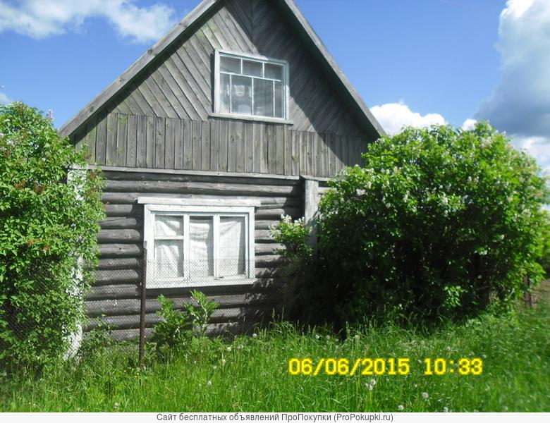 Продам земельный участок с домиком и сарайкой