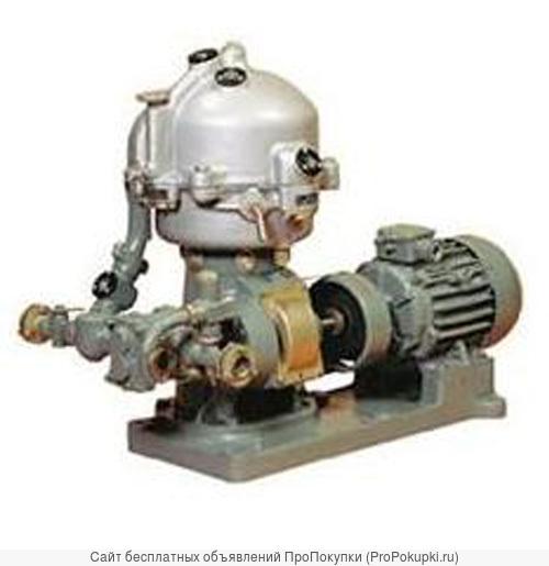 Сепараторы, центрифуги для очистки дизельных топлив, маслоочистительные установки