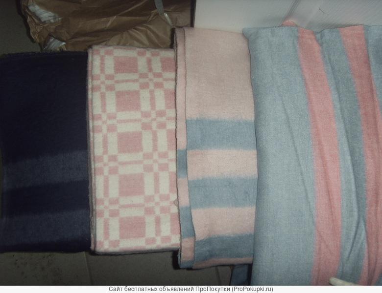 байковые одеяло 1.5 сп.