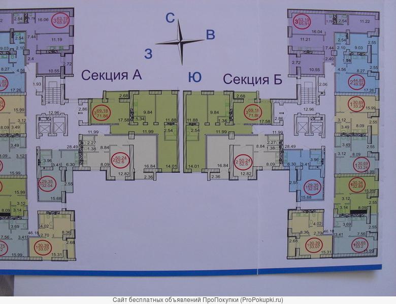 1 к. кв. Оржевского,5а