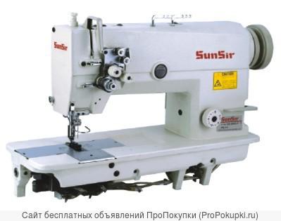 Двухигольная машина челночного стежка SunSir SS-D 842-5