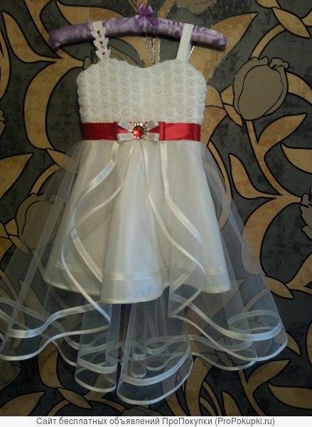 Шикарные нарядные платья для маленьких принцесс