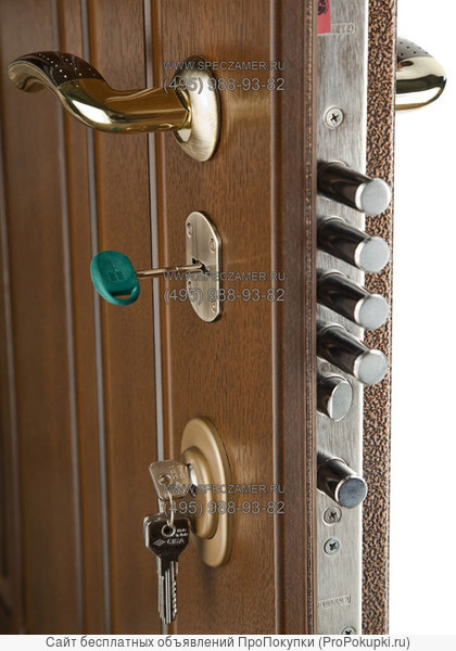 врезка замков в двери