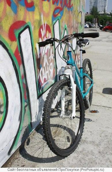 Стильный женский велосипед.
