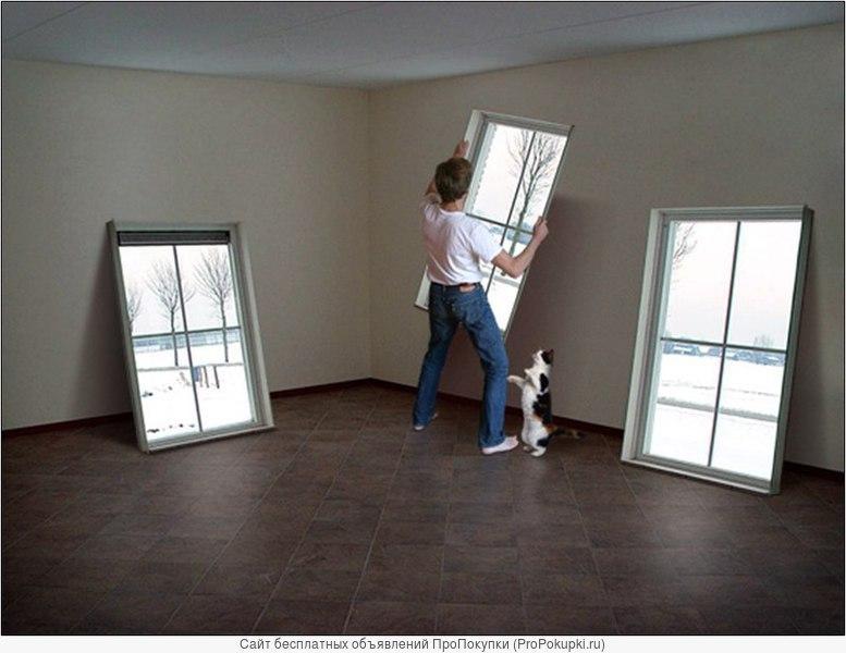 Анвико окна-двери пвх-ремонт-установка