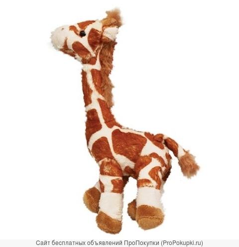 Жираф рыжий, 21 см плюшевый