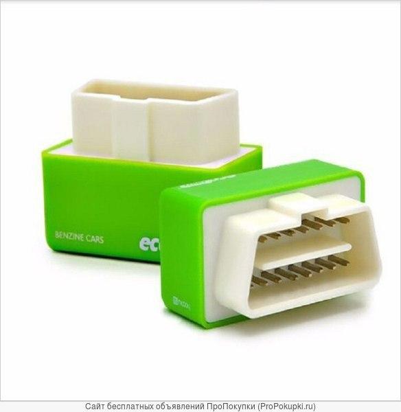 Чип тюнинг Eco OBD2 экономия топлива 15%