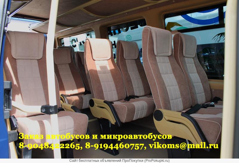 салон микроавтобуса форд