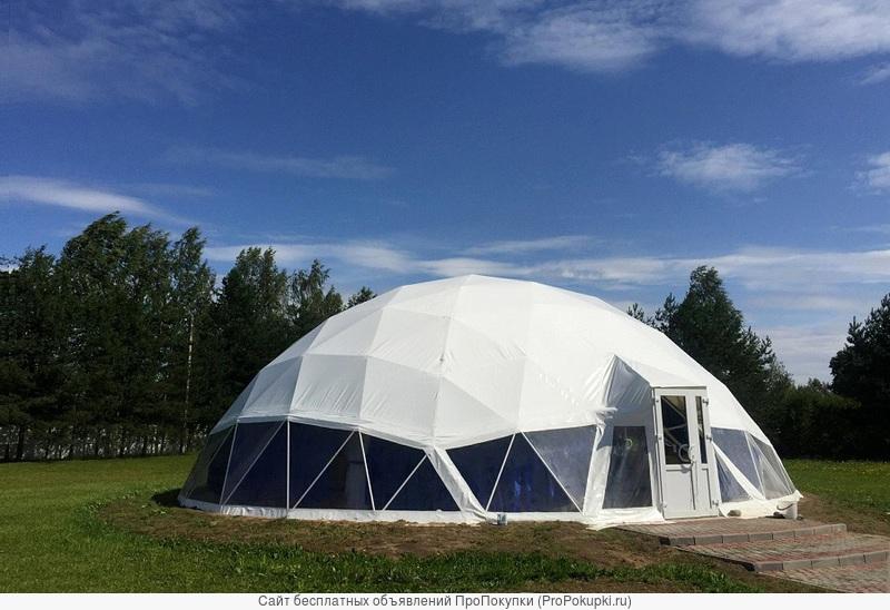 Аренда шатра для мероприятий на 100-120 человек