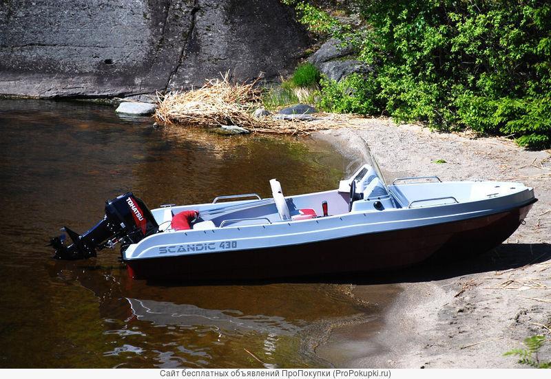 Продаем катер (лодку) Scandic Havet 430 PRO
