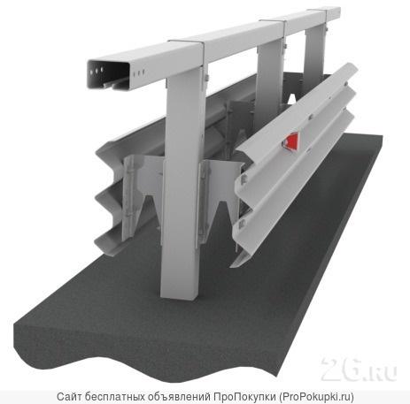 Металлические барьерные ограждения