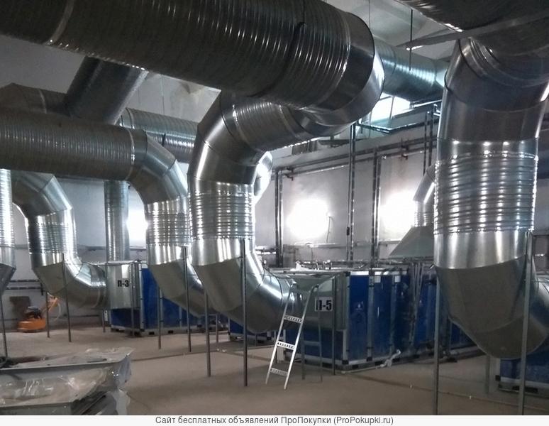 Выполним монтаж систем вентиляции и кондиционирования любой сложности