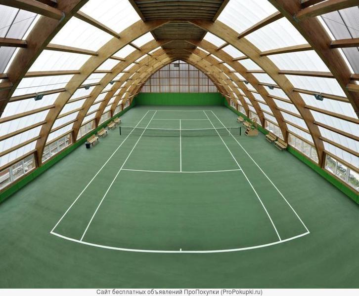 Покрытие хард, теннисит