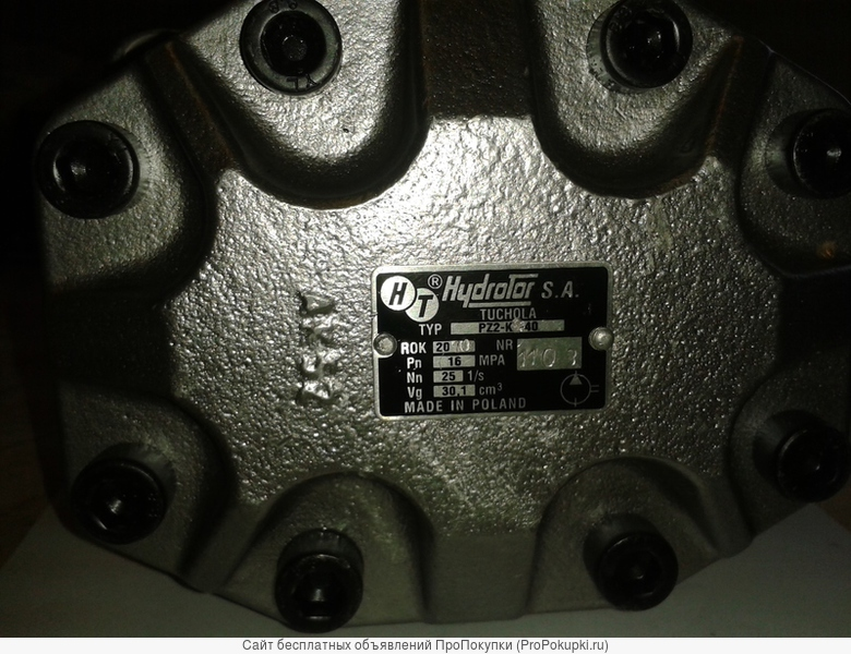 Мотор Hydrotor S A шестерёнчатый Pz2 k-40 новый Польша