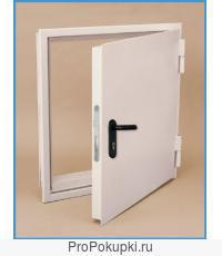 Изготовим на заказ от организации стальные двери