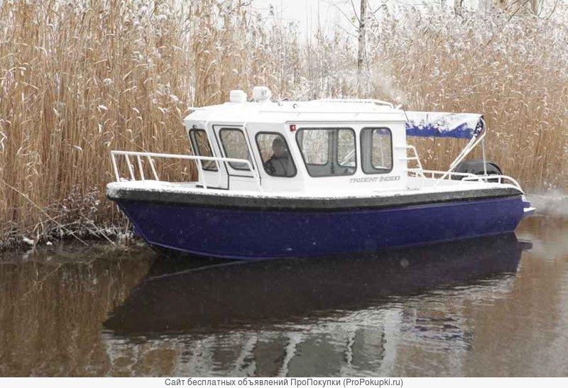 Продаем катер (лодку) Trident 720 CT Indigo