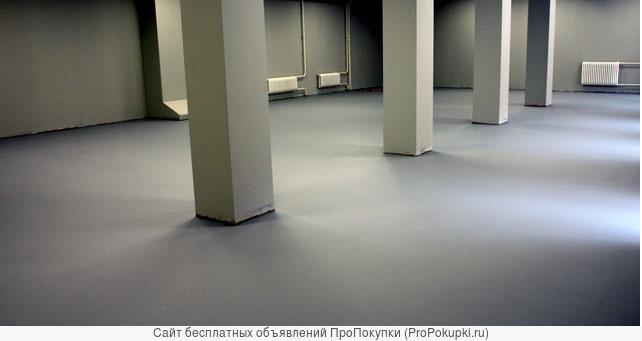 Промышленные бетонные полы любой сложности