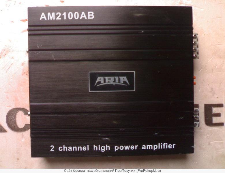 Автоусилитель ARIA AM-2100(2-х канальный)