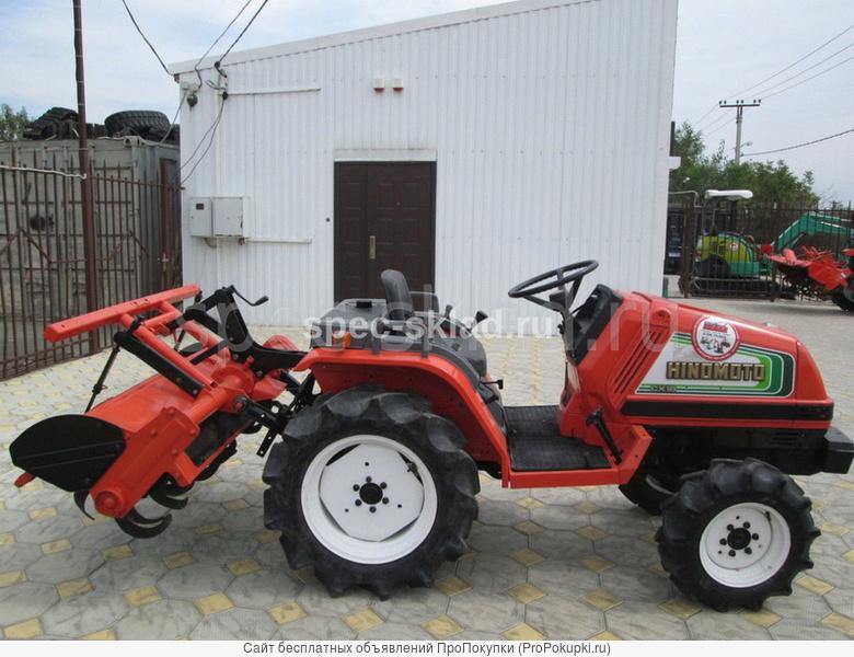 Японский мини трактор
