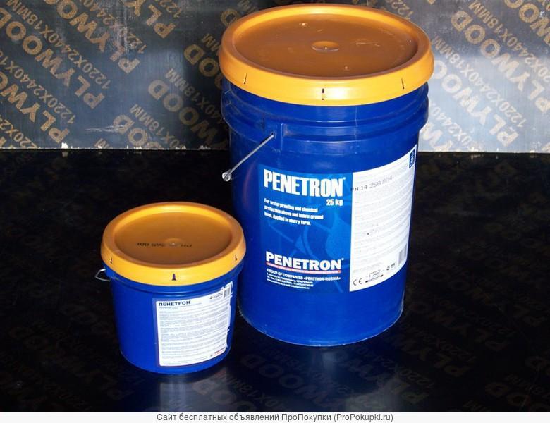 Пенетрон - проникающая гидроизоляция бетона