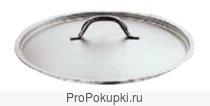 Крышка c ручкой для кастрюль Paderno. Диаметр - 50 см. Арт: 10209