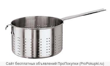 Дуршлаг объемом 2,8 литров. Д - 18 см; г - 11 см; Paderno Арт: 10701