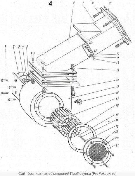 Вентилятор напора 1080.05.800-1СБ