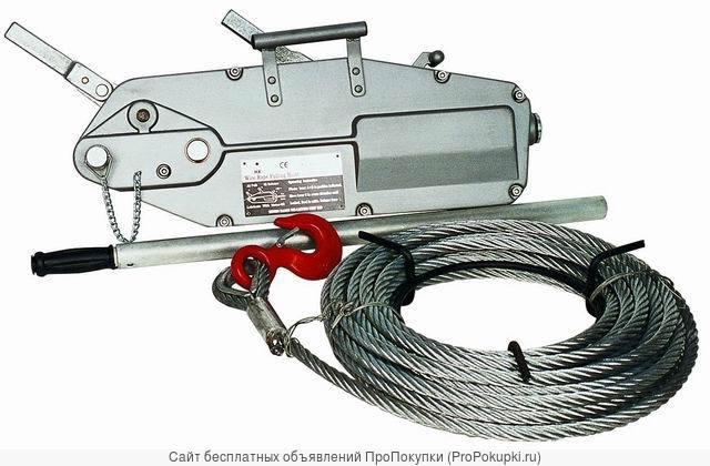 Монтажно-тяговые механизмы (ручные лебедки, МТМ)