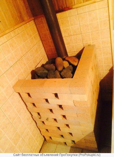 Сдам коттедж с баней внутри посуточно