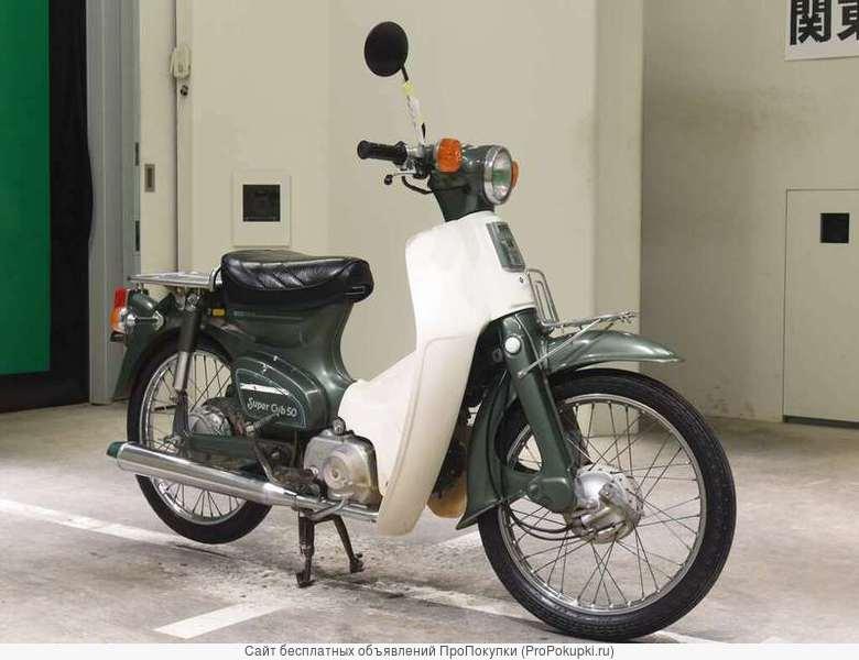 Мотоцикл дорожный Honda C50 Super Cub рама C50 скутерета багажники