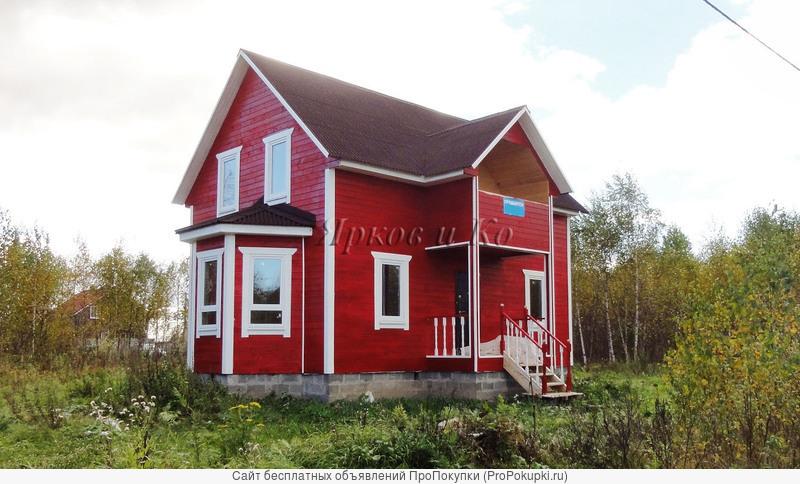 Новый дом с эркером, рядом с озером Плещеево