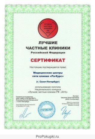 Медицинская франшиза - прибыль от 300 тыс. рублей