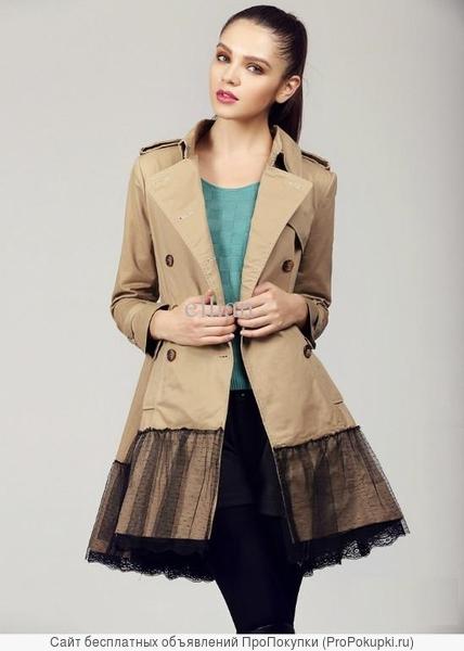плащи ветровки куртки и пальто от производителя оптом