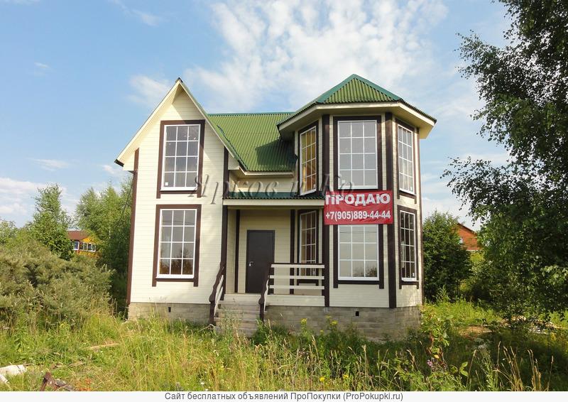 Новый дом с эркером